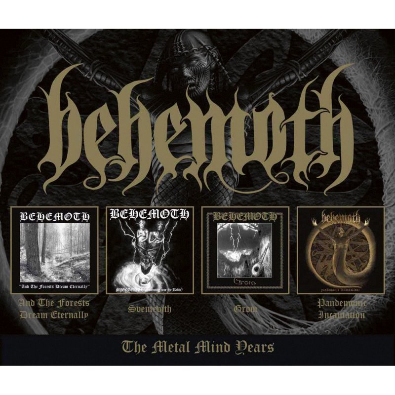 Behemoth The Metal Mind Years 4 Cd 16 99