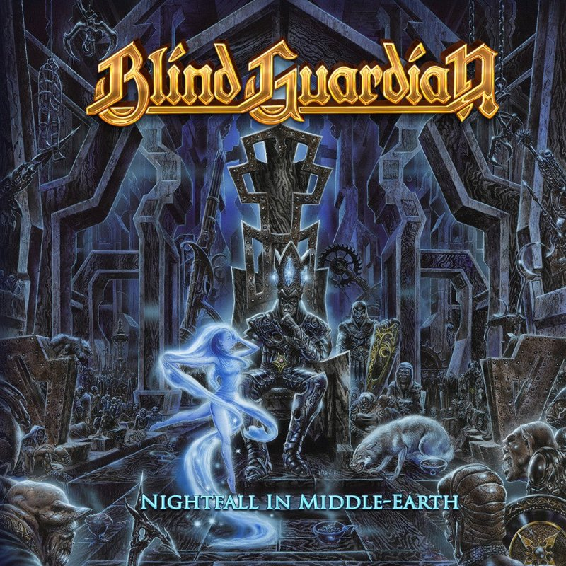 blind guardian nightfall in middle earth dlp black 22 99. Black Bedroom Furniture Sets. Home Design Ideas