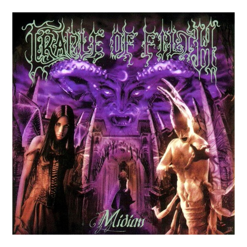 Cradle of filth| Midian | ZS - Identi