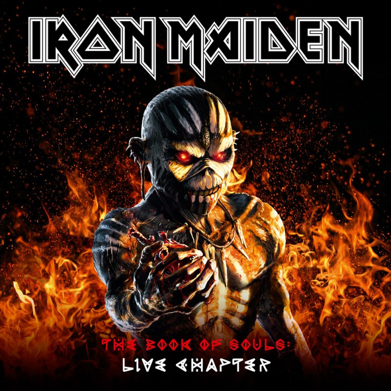 Iron Maiden The Book Of Souls Live Chapter 2cd Book