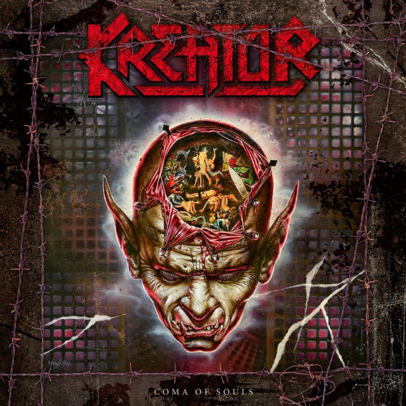 Kreator Coma Of Souls 3lp Red 34 99