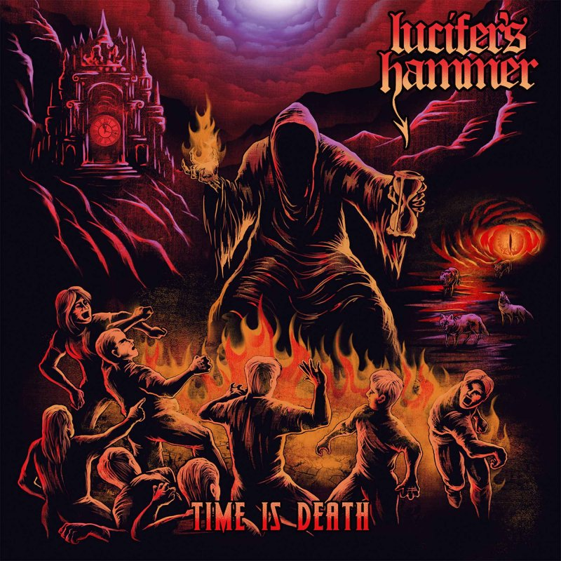 Lucifer S Hammer Time Is Death Lp Electric Blue 9 99
