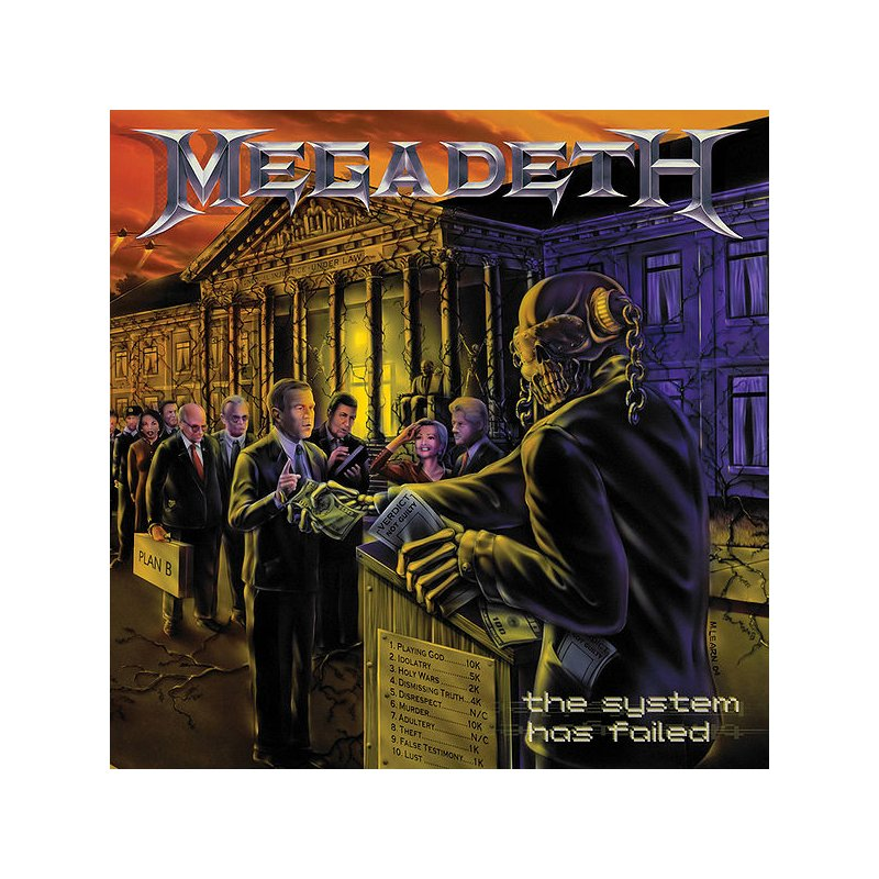 MEGADETH -- The System Has Failed LP BLACK, 21,99