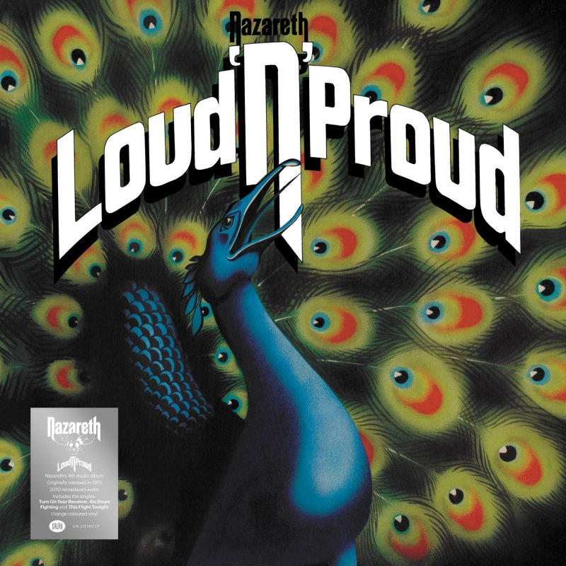 Nazareth Loud N Proud Lp Orange Salvo 19 99
