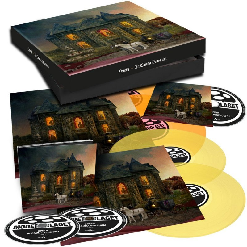 Opeth In Cauda Venenum Lp Cd Box Set 69 99