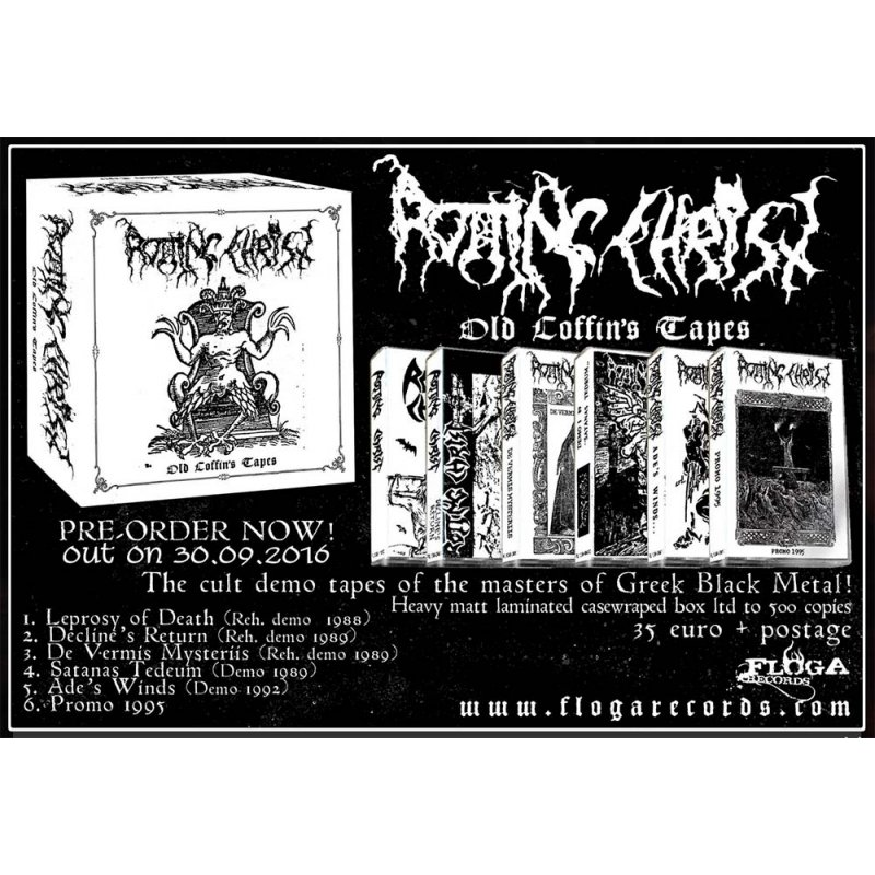 Rotting Christ - Old Coffin's Tapes