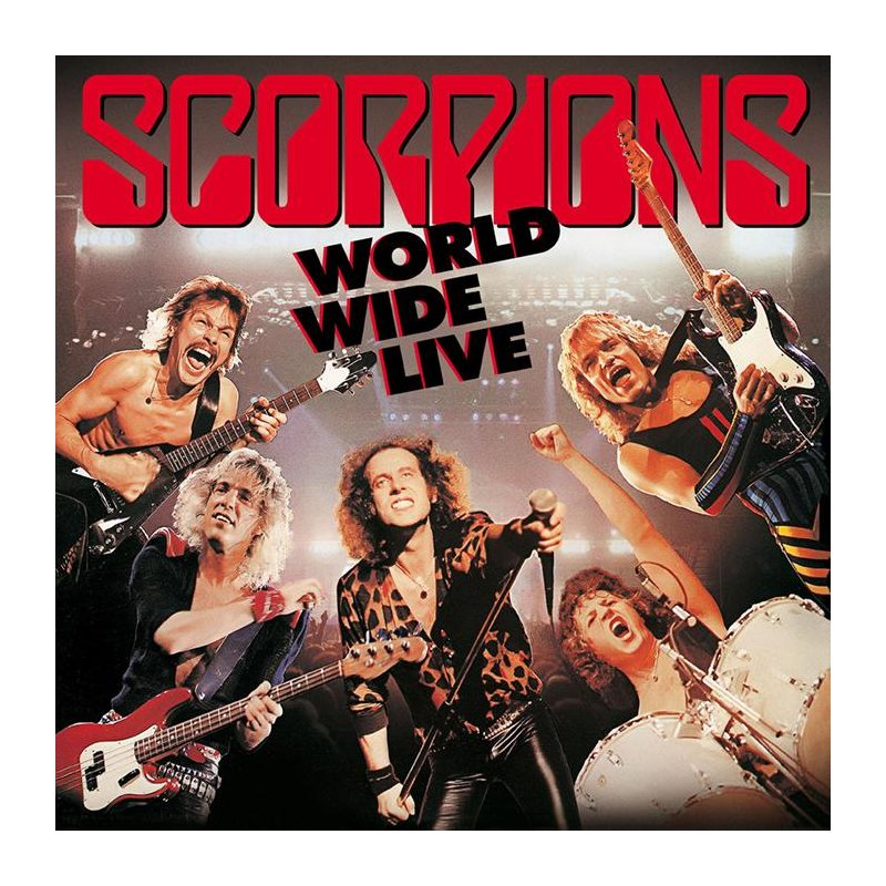 Scorpions World Wide Live Dlp Cd 50th Anniversary 23 99