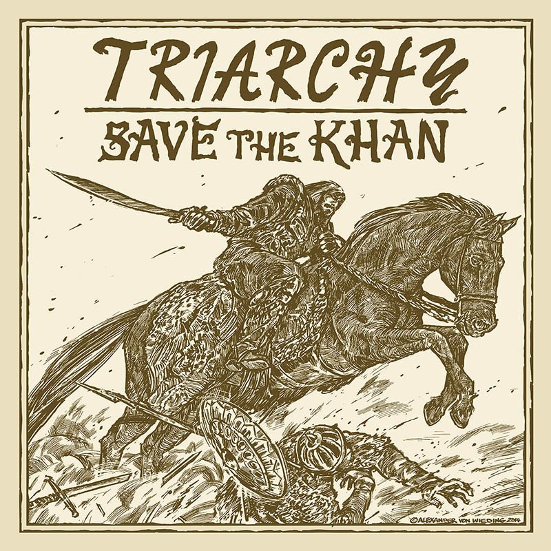 Triarchy Save The Khan Cd Digi 12 99