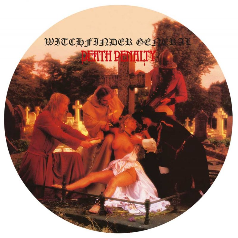 Witchfinder General Death Penalty Picture Lp 19 99